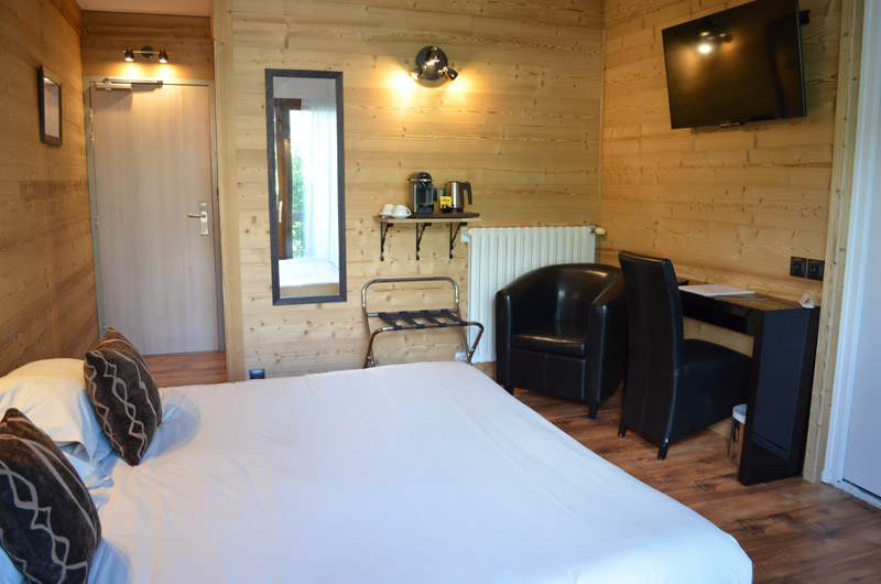chambre double - hotel edelweiss